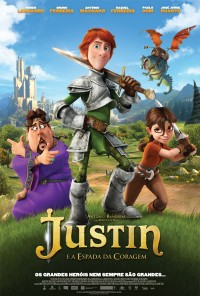 Poster do filme Justin e a Espada da Coragem / Justin and the Knights of Valour (2012)