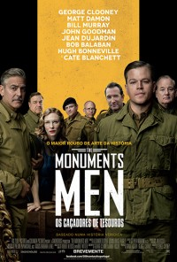 Poster do filme The Monuments Men - Os Caçadores de Tesouros / The Monuments Men (2013)