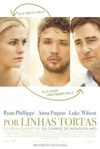 Poster do filme Por Linhas Tortas / Straight A's (2013)