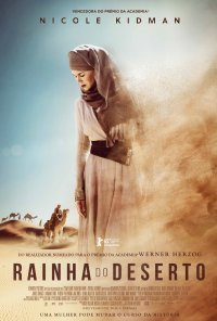 Poster do filme Rainha do Deserto / Queen of the Desert (2015)