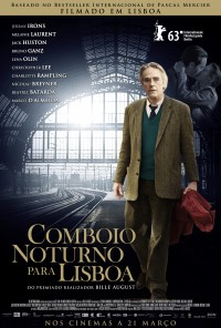 Poster do filme Comboio Noturno Para Lisboa / Night Train to Lisbon (2013)