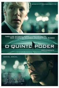 Poster do filme O Quinto Poder / The Fifth Estate (2013)