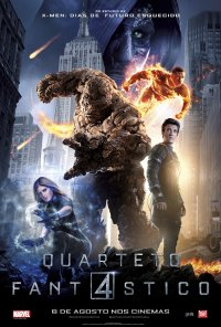 Poster do filme Quarteto Fantástico / The Fantastic Four (2015)