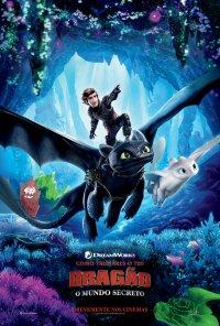 Poster do filme Como Treinares o Teu Dragão: O Mundo Secreto / How to Train Your Dragon: The Hidden World (2019)