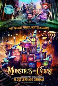 Poster do filme Os Monstros das Caixas / The Boxtrolls (2014)