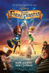 Poster do filme Sininho: Fadas e Piratas / The Pirate Fairy (2014)