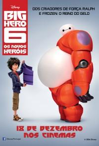 Poster do filme Big Hero 6 - Os Novos Heróis / Big Hero 6 (2014)