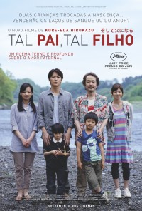 Poster do filme Tal Pai, Tal Filho / Soshite Chichi Ni Naru / Like Father, Like Son (2013)