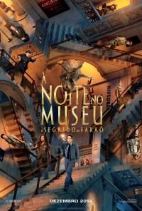 Poster do filme À Noite no Museu: O Segredo do Faraó / Night at the Museum: Secret of the Tomb (2014)