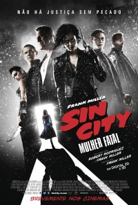 Poster do filme Sin City: Mulher Fatal / Sin City: A Dame to Kill For (2014)