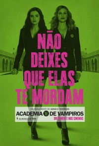 Poster do filme Academia de Vampiros / Vampire Academy: Blood Sisters (2014)