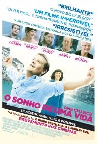 Poster do filme O Sonho de Uma Vida / One Chance (2013)