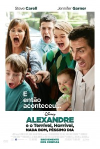 Poster do filme Alexandre e o Terrível, Horrível, Nada Bom, Péssimo Dia / Alexander and the Terrible, Horrible, No Good, Very Bad Day (2014)