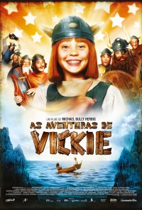 Poster do filme As Aventuras de Vickie / Wickie Und die Starken Männer (2009)