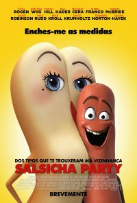 Poster do filme Salsicha Party / Sausage Party (2016)