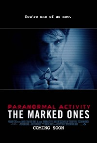 Poster do filme Paranormal Activity: The Marked Ones (2014)