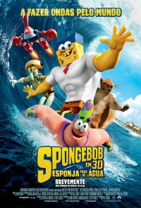 Poster do filme SpongeBob: Esponja Fora De Água / The SpongeBob Movie: Sponge Out of Water (2015)