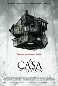 Poster do filme A Casa na Floresta / The Cabin in the Woods (2012)