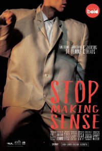Poster do filme Stop Making Sense (reposição) / Stop Making Sense (1984)