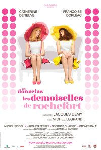 Poster do filme As Donzelas de Rochefort (reposição) / Les Demoiselles de Rochefort (1967)