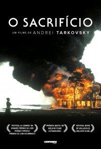 Poster do filme O Sacrifício (Ciclo Andrei Tarkovsky) / Offret (1986)