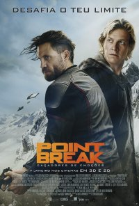 Poster do filme Point Break - Caçadores de Emoções / Point Break (2015)