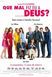 Poster do filme Que Mal Fiz Eu a Deus? / Qu'est-ce Qu'on a Fait au Bon Dieu (2014)