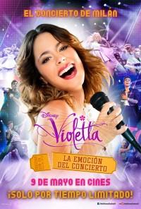 Poster do filme Violetta: O Concerto em Milão / Violetta: La emoción en concierto (2014)