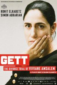 Poster do filme Gett: O Processo de Viviane Amsalem / Gett (2014)