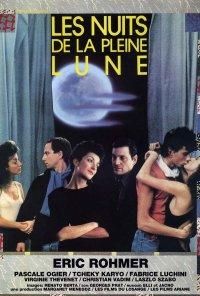 Poster do filme Noites de Lua Cheia (reposição) / Les Nuits de la pleine lune (1984)