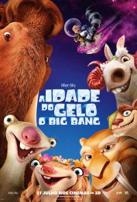 Poster do filme A Idade do Gelo: O Big Bang / Ice Age: Collision Course (2016)