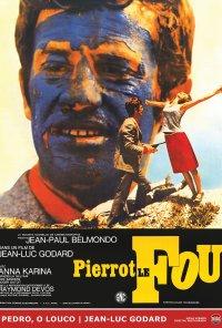 Poster do filme Pedro, O Louco (reposição) / Pierrot le fou (1965)