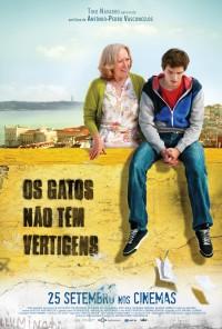 Poster do filme Os Gatos Não Têm Vertigens (2014)