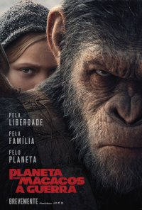 Poster do filme Planeta dos Macacos: A Guerra / War for the Planet of the Apes (2017)