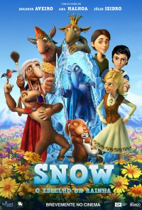 Poster do filme Snow - O Espelho da Rainha / Snezhnaya koroleva 2. Perezamorozka / The Snow Queen 2: Refreeze (2014)