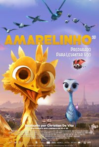 Poster do filme Amarelinho / Gus - Petit oiseau, grand voyage (2014)
