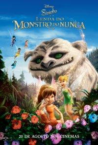Poster do filme Sininho e a Lenda do Monstro do Nunca / Tinker Bell and the Legend of the NeverBeast (2014)