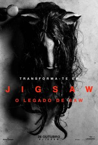Poster do filme Jigsaw - O Legado de Saw / Jagsaw (2017)