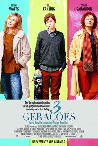 Poster do filme 3 Gerações / 3 Generations (2016)