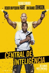 Poster do filme Central de Inteligência / Central Intelligence (2016)