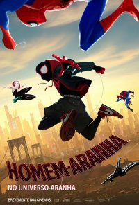 Poster do filme Homem-Aranha: No Universo Aranha / Spider-Man: Into the Spider-Verse (2018)