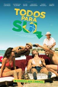 Poster do filme Todos Para Sul / Babysitting 2 (2015)
