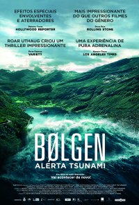 Poster do filme Bolgen - Alerta Tsunami / Bølgen / The Wave (2015)