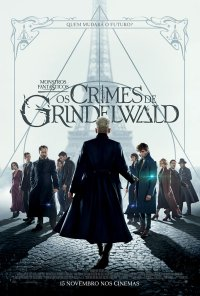Poster do filme Monstros Fantásticos: Os Crimes de Grindelwald / Fantastic Beasts: The Crimes of Grindelwald (2018)
