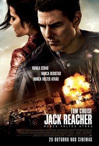 Poster do filme Jack Reacher: Nunca Voltes Atrás / Jack Reacher: Never Go Back (2016)