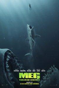 Poster do filme Meg: Tubarão Gigante / The Meg (2018)