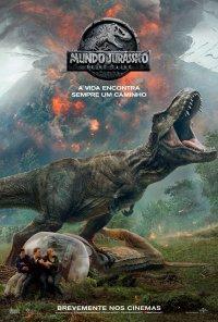 Poster do filme Mundo Jurássico: Reino Caído / Jurassic World: Fallen Kingdom (2018)