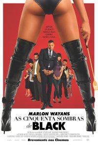 Poster do filme As Cinquenta Sombras de Black / Fifty Shades of Black (2016)