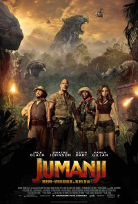 Poster do filme Jumanji - Bem-Vindos À Selva / Jumanji: Welcome to the Jungle (2017)