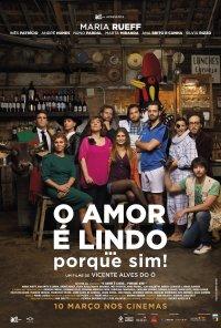 Poster do filme O Amor é Lindo... Porque Sim! (2016)